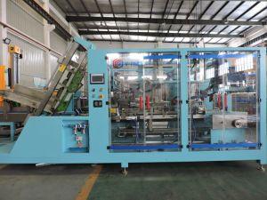 Máquina de embalaje de cartón automática de envases de bebidas refrescantes Wj-Cgb-12