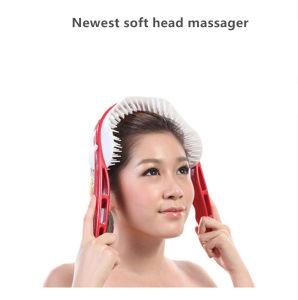 Pettine tenuto in mano del Massager della testa del cuoio capelluto per il commercio all'ingrosso di sanità