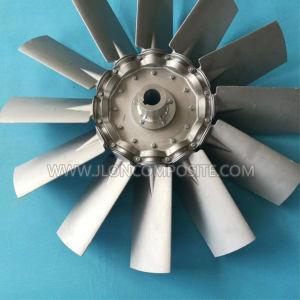 De gegoten AsVentilator van het Blad van het Aluminium voor Milieu Op hoge temperatuur