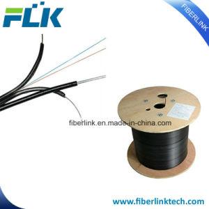 Núcleos de 1/2/óptica de fibra óptica FTTH Council Interior/Exterior de comunicação TV Cabo
