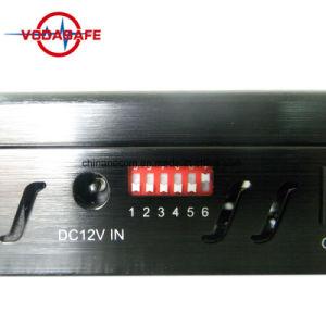De cellulaire Stoorzender van het Signaal, Nieuwe Handbediende GPS Lojack van WiFi van de Stoorzender van 5 Banden 4G Stoorzender met de Lader van de Auto, Draagbare Mobiele GSM van de Telefoon GPS Stoorzender