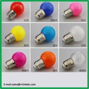 24V /1W/E27/B22/E14/G45 LED bunte Lampe/weiß/rot/Blau/Milch/Grün