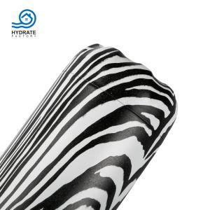 Design em aço inoxidável Zabra isolamento por vácuo caneca basculante de deslocamento de água