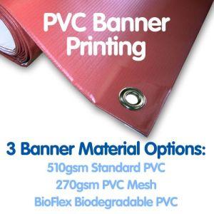 Livraison rapide de la publicité personnalisée de l'impression de banderoles en vinyle PVC de plein air Flex