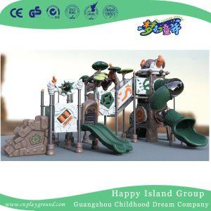 Openlucht Weinig Apparatuur van de Speelplaats van de Dia voor het Spel van de Rol van Kinderen (hj-10201)