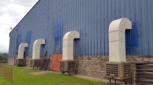 Koeler van de Lucht van de luchtstroom 18000CMH de Industriële Verdampings