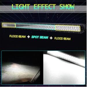Hoge Rechte LEIDENE van de Efficiency Lichte Staaf met 312W 54 Duim