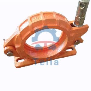 Dn125 le collier de tuyau avec la base de tuyau de pompe à béton Accessoires