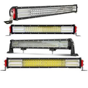 """Nuevo 8d 12D 4 fila 22"""" 32"""" 42"""" 50"""" 52"""" 52pulgadas comercio al por mayor de 24 voltios de 12V 4X4 alquiler de barra de luces LED curvada para offroad"""