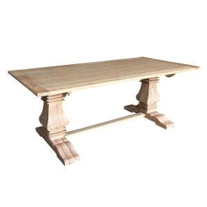Ресторан прямоугольного сечения мебель из дуба и обеденный стол Balustrade