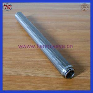 Cunha de tela de fio de aço inoxidável na fábrica Xinxiang do Tubo