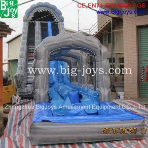 Almofada insuflável gigante escorrega de água para a promoção (BJ-W12)