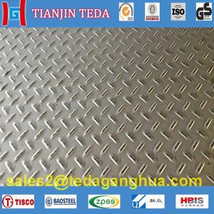 plaque antidérapante de l'acier inoxydable 316L
