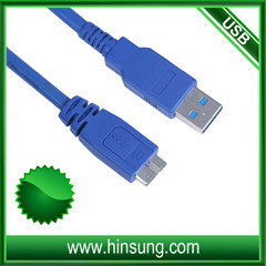 Micro- USB van de hoge snelheid USB3.0 Kabel