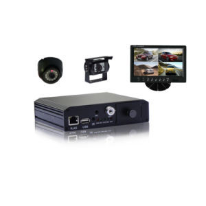 4CH D1 Sd Card Mobile DVR mit 3G GPS WiFi G-Senor Android/iPhone Live View