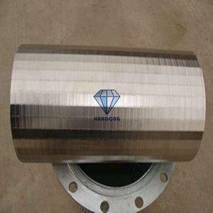 V-envolta com arame Tela de poços de água para o tubo do filtro de água