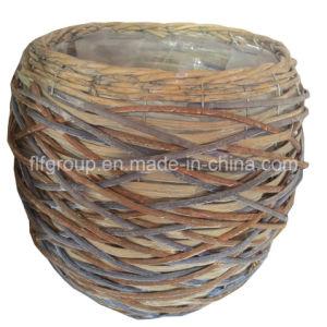 Настраиваемые экологически безвредные плетение ивы Flowerpot ручной работы с естественной цветопередачей