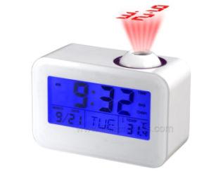 O logotipo personalizado Projector Digital relógio de mesa