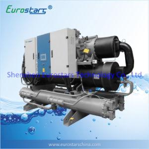 La industria refrigerado por aire de tornillo refrigerado por agua enfriador de agua