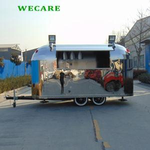 4つの車輪の電気移動式通りの食糧キャラバン