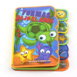 Großhandelskind-Spielzeug-Baby-Bad-Buch (BBK038)