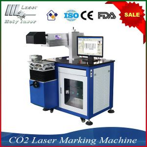 Machine de marquage non métalliques de haute précision Hsco2-30W