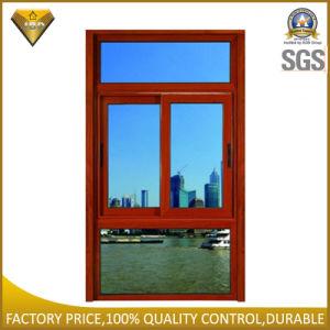Ventana corrediza de aluminio con doble vidrio templado (JBD-S5).