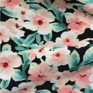 섹시한 소녀 복장을%s 제조자 공급 꽃 인쇄된 비스코스 직물