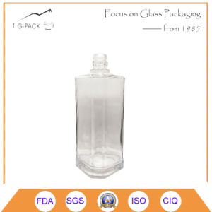 bottiglia di vetro 500ml per la vodka di Tequila, liquori