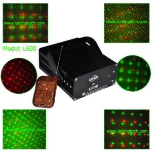 小型レーザーの段階の照明