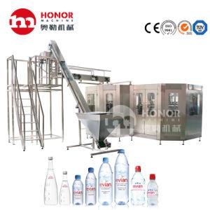 8000bph verre Pet automatique l'eau minérale pure ligne de remplissage de production de bouteilles