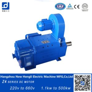 Z4 de 235 kw eléctricos 1500rpm del motor de CC