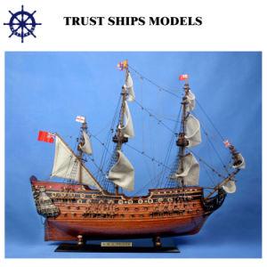 Modèle de navire en bois pour les cadeaux d'affaires