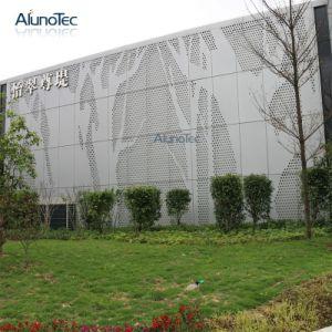 Commerce de gros panneau personnalisé de grande taille de l'architecture Façade de maillage en métal perforé