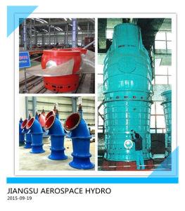 Kleine Wasser-Pumpe mit Dieselmotor