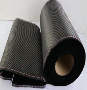 Thin 1K 3K 6K 12K de tejido de fibra de carbono