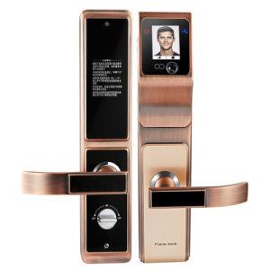 Hotsales Keyless de reconocimiento facial de desbloqueo de la contraseña de seguridad Digital Palmprint electrónica inteligente de la cerradura de puerta