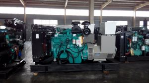 150kVA de Diesel van Cummins Reeks van de Generator met Stille Luifel