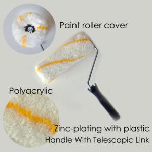Hölzerne Kern-Lack-Rolle, Pinsel mit Plastikgriff