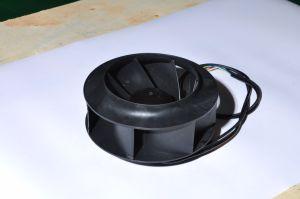 Gelijkstroom 24V 48V 310V 190mm Plastic Achterwaartse Gebogen Ventilator Centrifgual