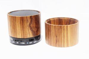 Anerkannter hölzerner drahtloser beweglicher Bluetooth Lautsprecher Cer FCC-mit kundenspezifischem Firmenzeichen