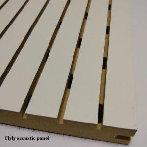 Logement de carte acoustique en bois pour les murs et plafonds