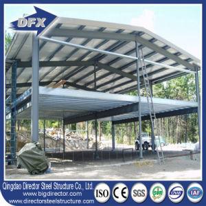 Estructura de edificio laminado en caliente y acero soldado Vigas doble