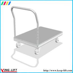 Het Karretje van de Hand van het aluminium met het Vouwen van de Vrachtwagen van de Hand van het Platform van het Handvat
