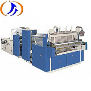 Automático de Alta Velocidade do Rolo de papel higiénico máquina de Enrolamento perfurantes