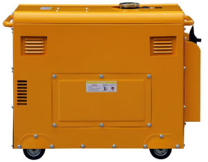 5kw強力な無声ディーゼル発電機