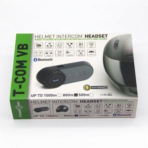 Intercomunicación Bluetooth Auriculares de casco de motocicleta de 800m de Fdc-02