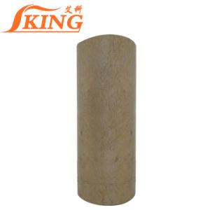 La laine de roche enveloppé d'alimentation en vapeur de tuyaux en acier