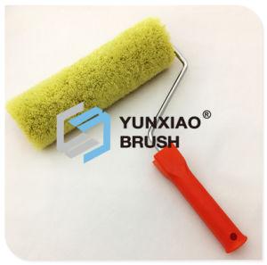 Spazzola del rullo di vernice del tessuto della miscela con gli strumenti di plastica della pittura della maniglia