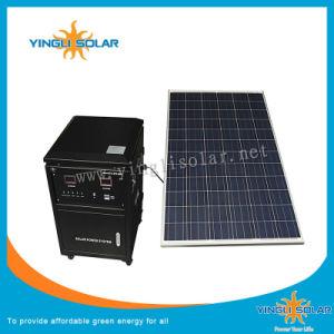 Dehors de la grille du panneau solaire Système d'accueil de l'alimentation